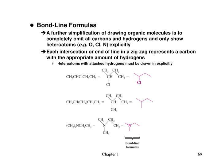 Bond-Line Formulas