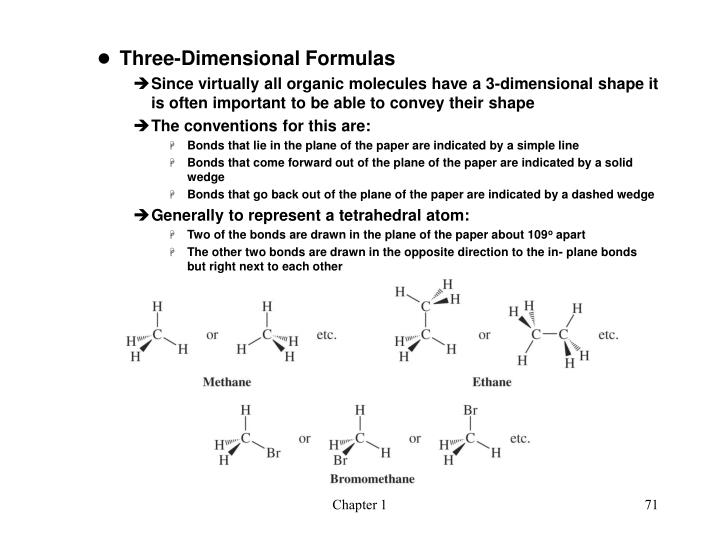 Three-Dimensional Formulas