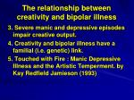 the relationship between creativity and bipolar illness1