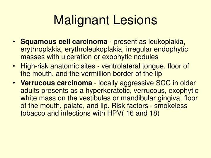 Malignant Lesions
