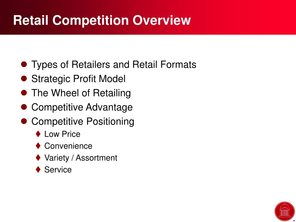 Retail Competition Overview