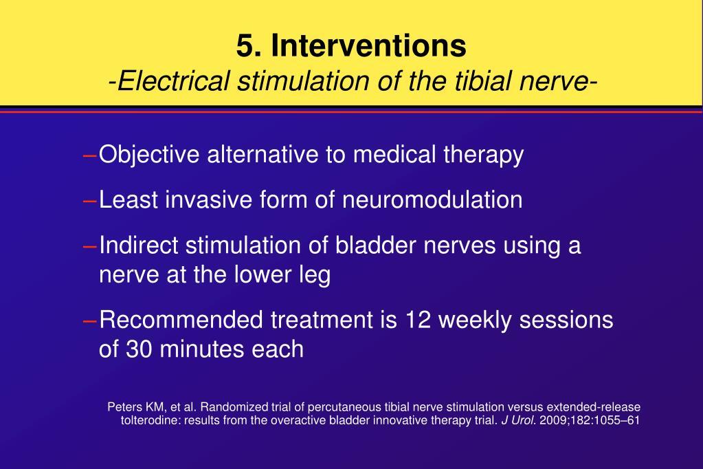 5. Interventions