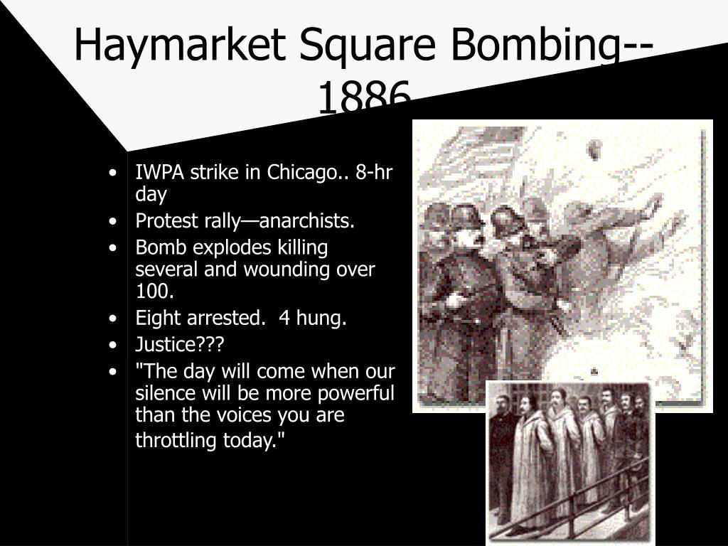 IWPA strike in Chicago.. 8-hr day