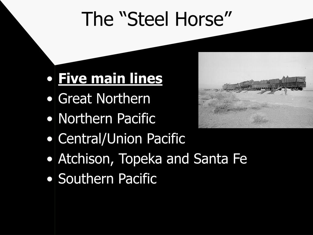 "The ""Steel Horse"""