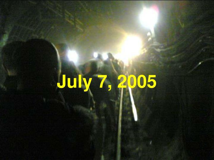 July 7, 2005
