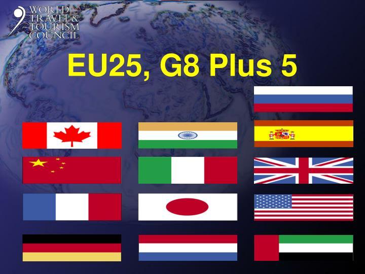 EU25, G8 Plus 5