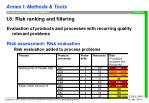 i 8 risk ranking and filtering10