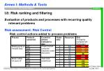 i 8 risk ranking and filtering11