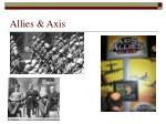 allies axis
