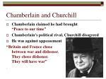 chamberlain and churchill