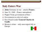 italy enters war