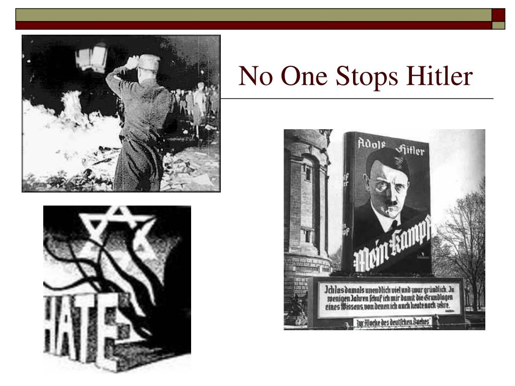 No One Stops Hitler