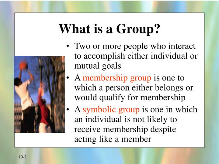 What is a group l.jpg