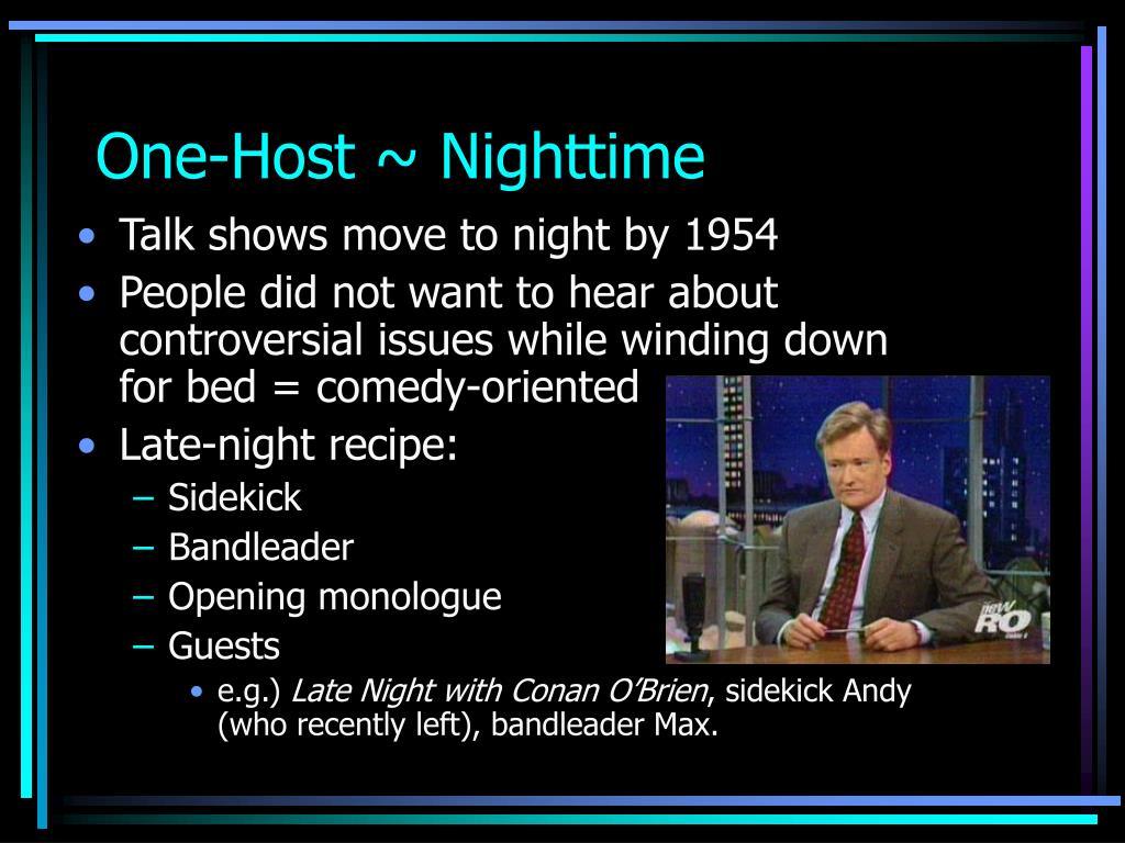 One-Host ~ Nighttime