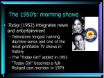the 1950 s morning shows