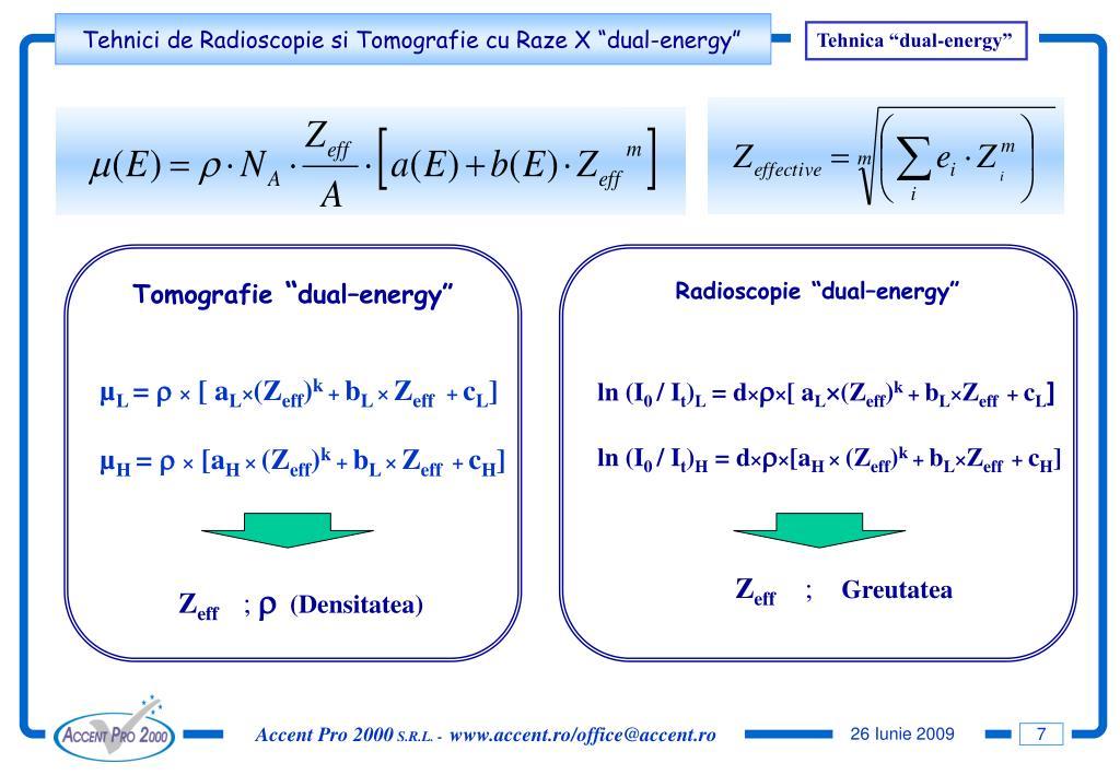 "Tehnica ""dual-energy"""