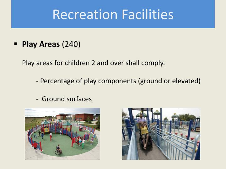 Recreation Facilities