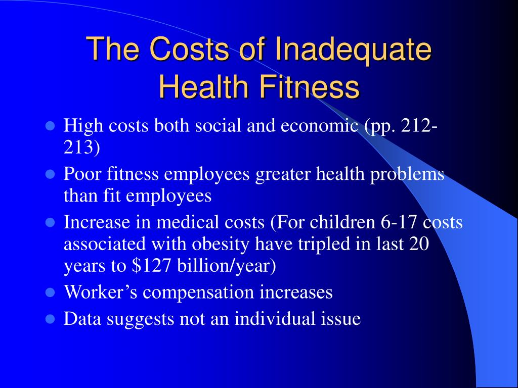 The Costs of Inadequate