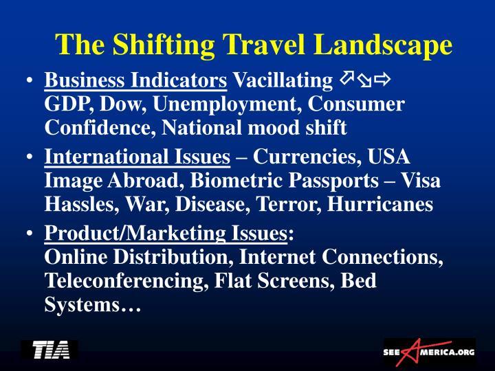 The Shifting Travel Landscape