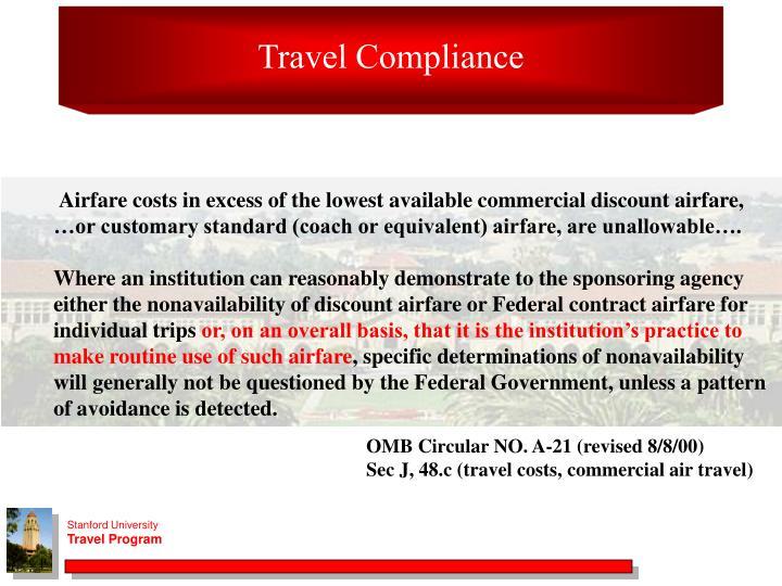 Travel Compliance