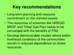 key recommendations34