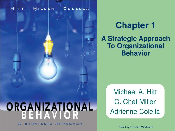 A strategic approach to organizational behavior l.jpg