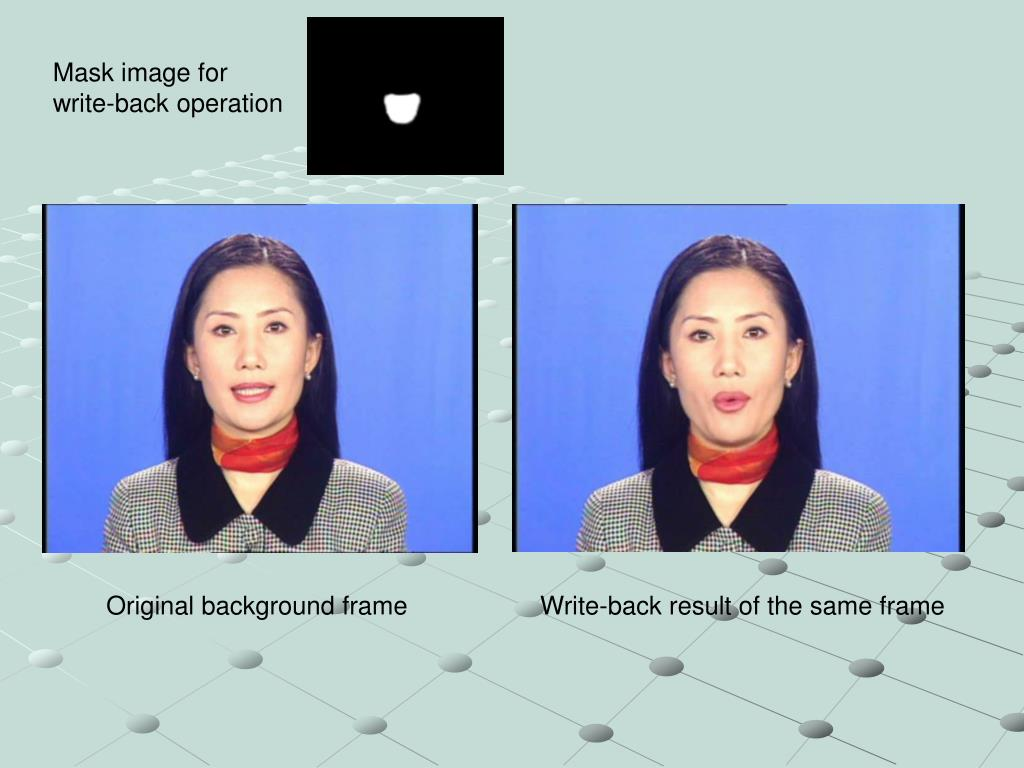 Mask image for