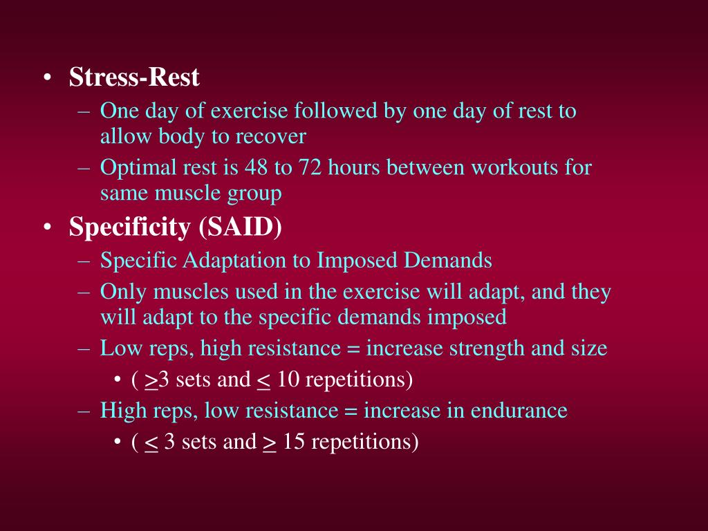 Stress-Rest