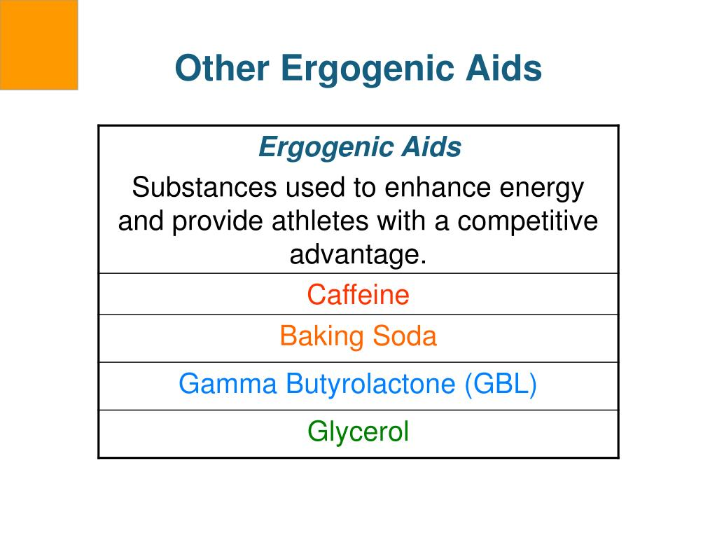 Other Ergogenic Aids