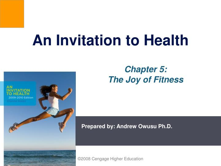 An Invitation to Health