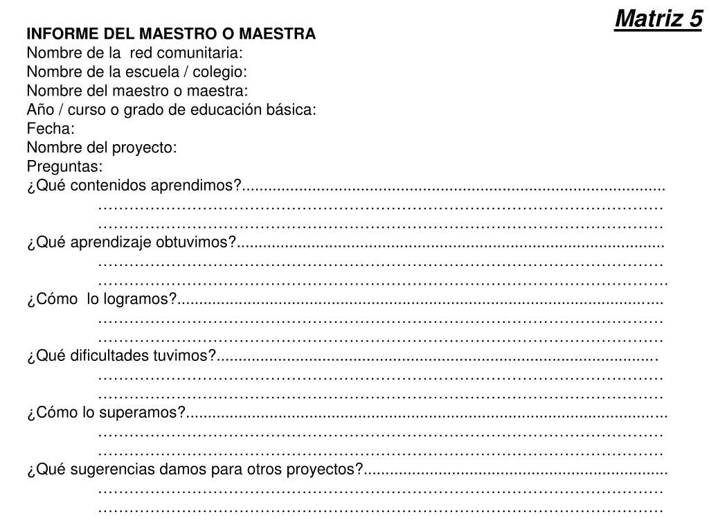 Matriz 5