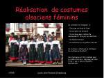 r alisation de costumes alsaciens f minins