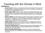 traveling with the climate in mind1