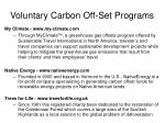 voluntary carbon off set programs2