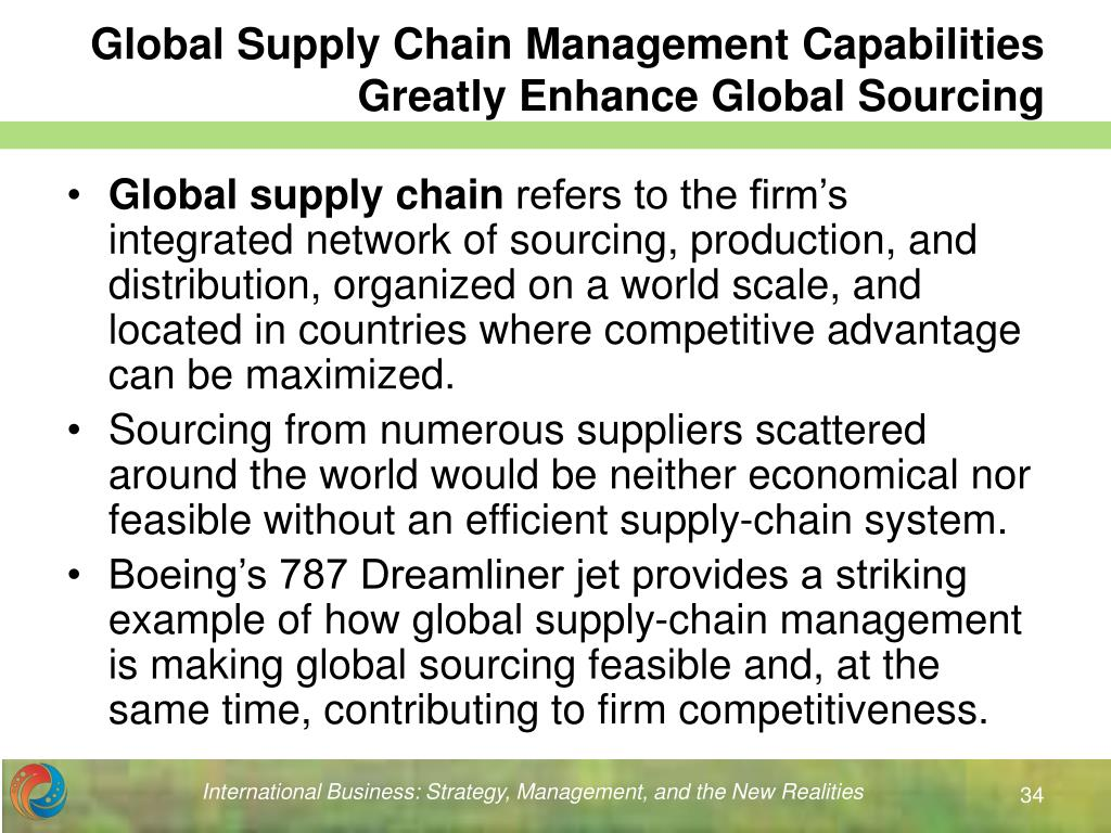 global supply chain management history essay The essay will particularly be limited to the operations of thomas built buses over the last fiver years alongside how the company has used its current typically, it is not farfetched to look at supply chain management case study from the perspective of the significant successes chucked by some of the.