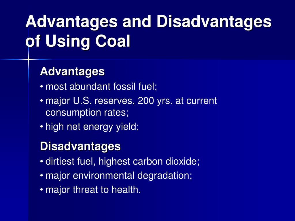 advantages and disadvantages of fossil fuels essay