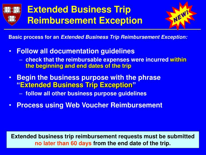 Extended Business Trip