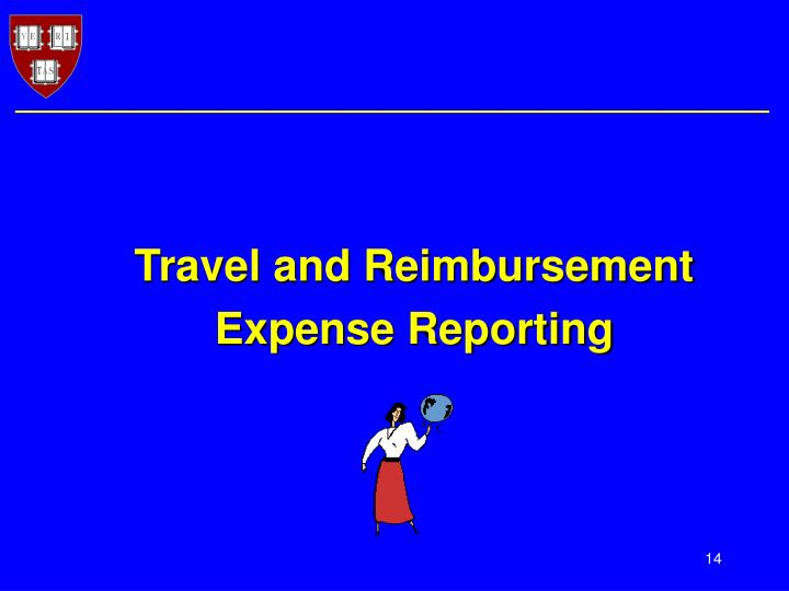 Travel and Reimbursement