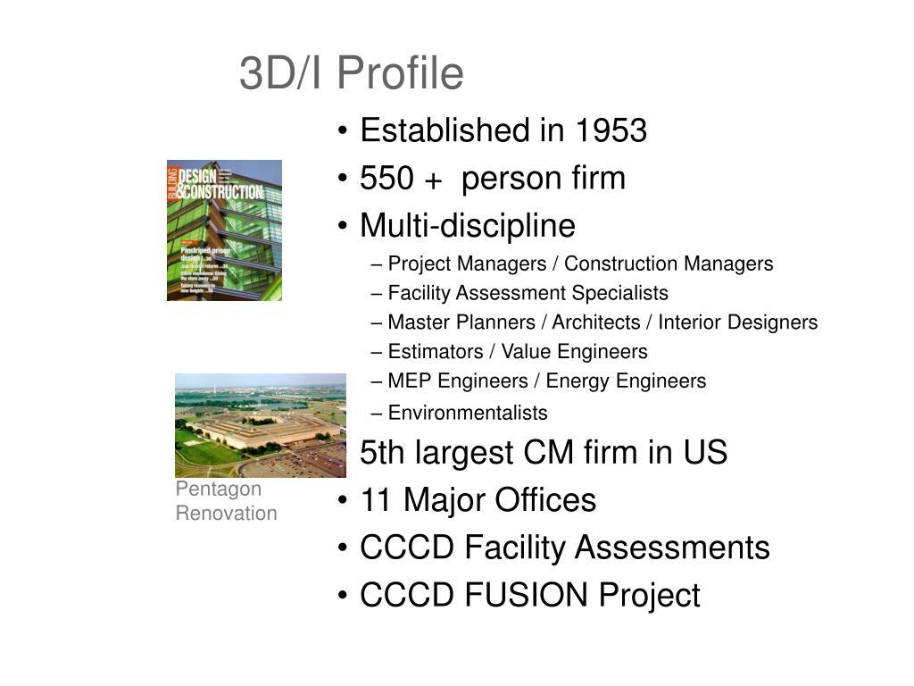 3D/I Profile