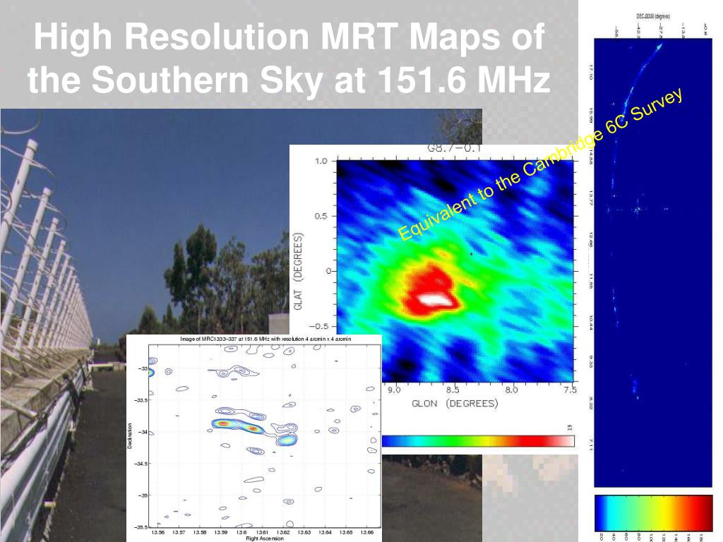 High Resolution MRT Maps of the Southern Sky at 151.6 MHz
