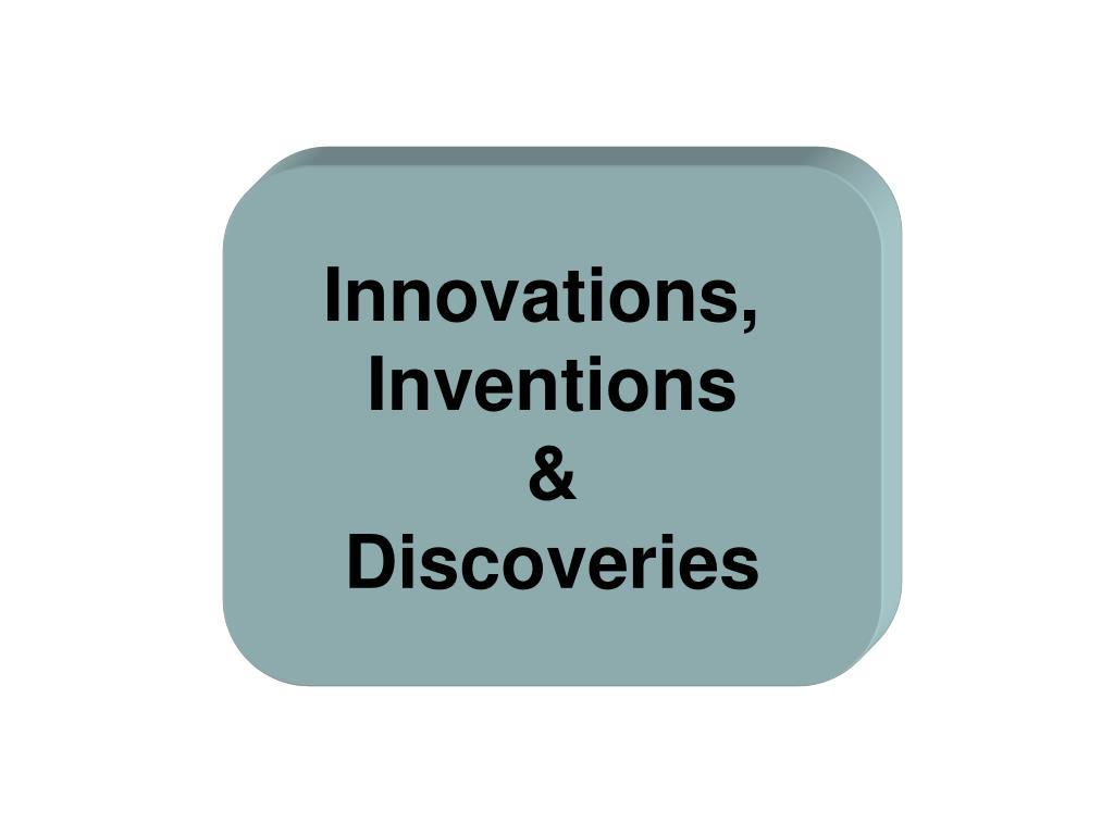 Innovations,