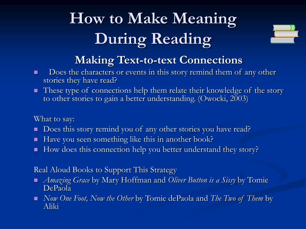 How to Make Meaning