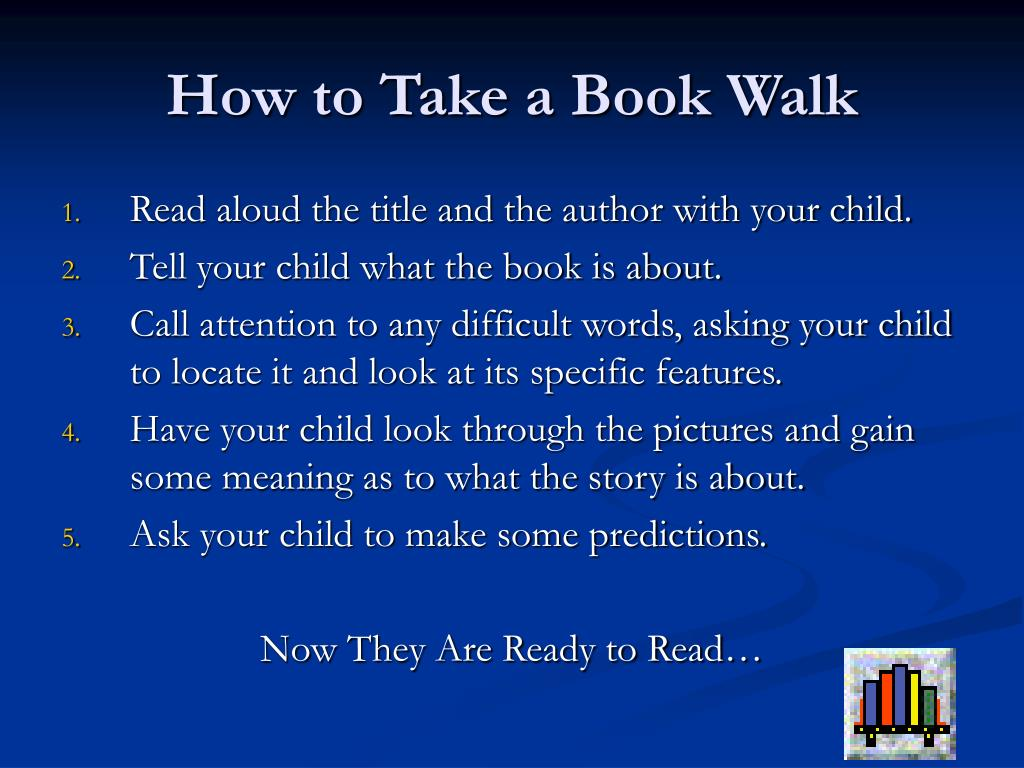 How to Take a Book Walk