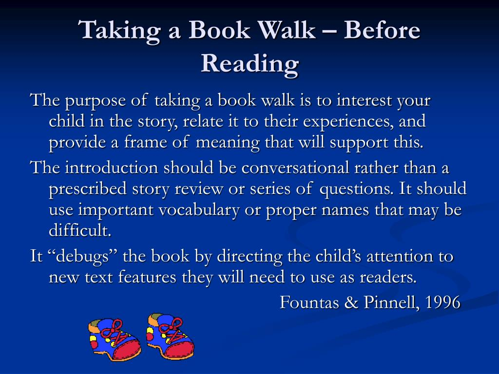 Taking a Book Walk – Before Reading