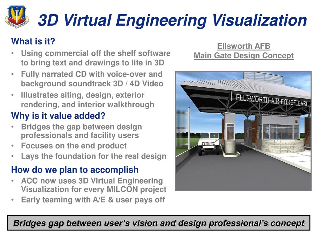 3D Virtual Engineering Visualization