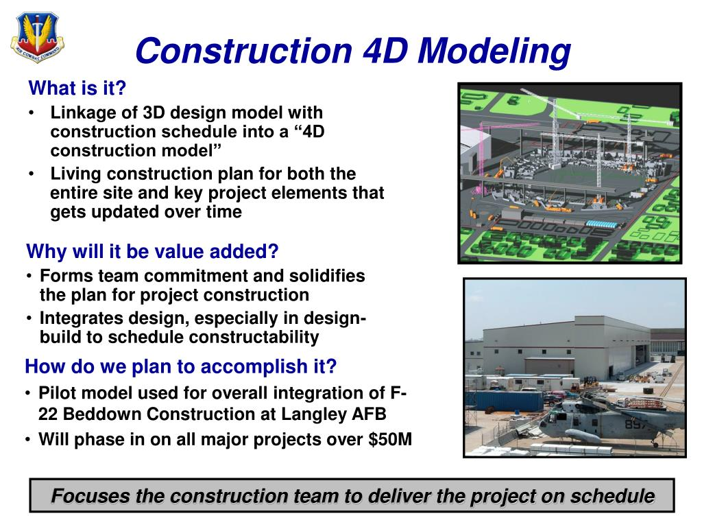 Construction 4D Modeling