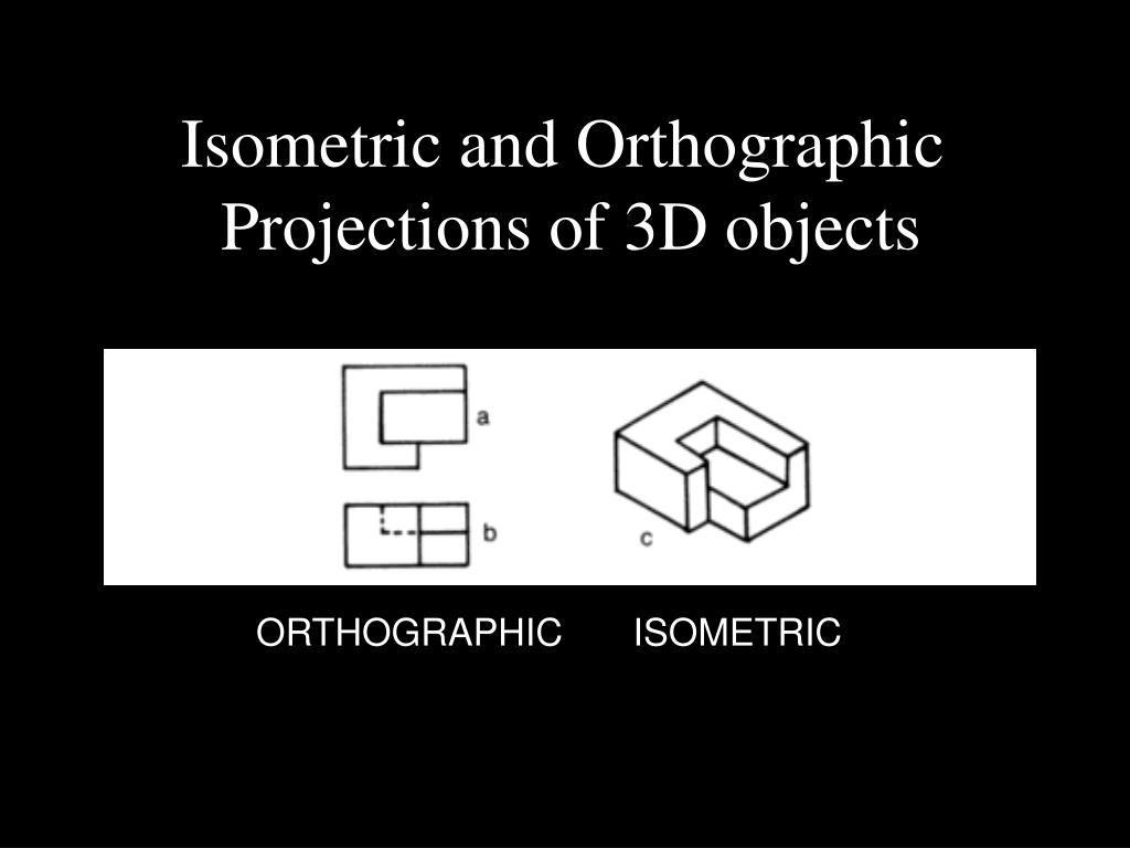 Isometric and Orthographic