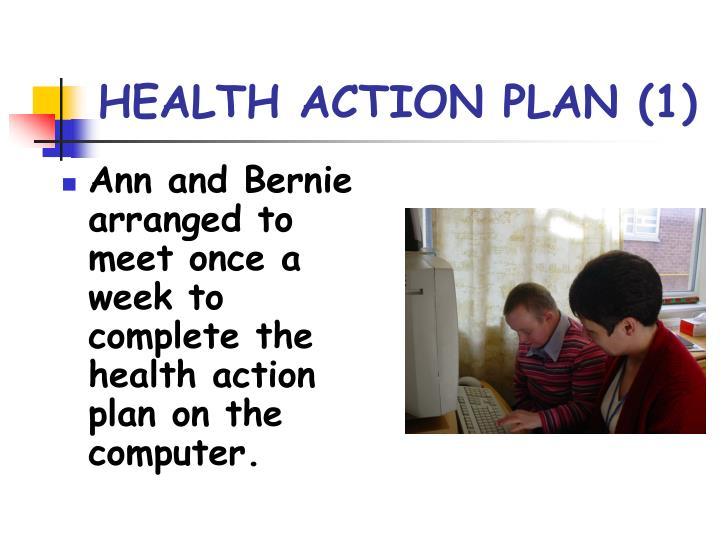 Health action plan 1