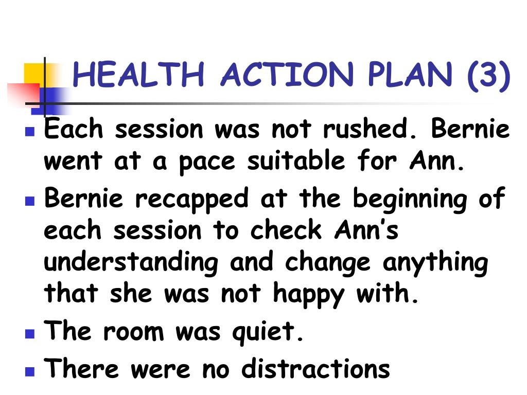 HEALTH ACTION PLAN (3)