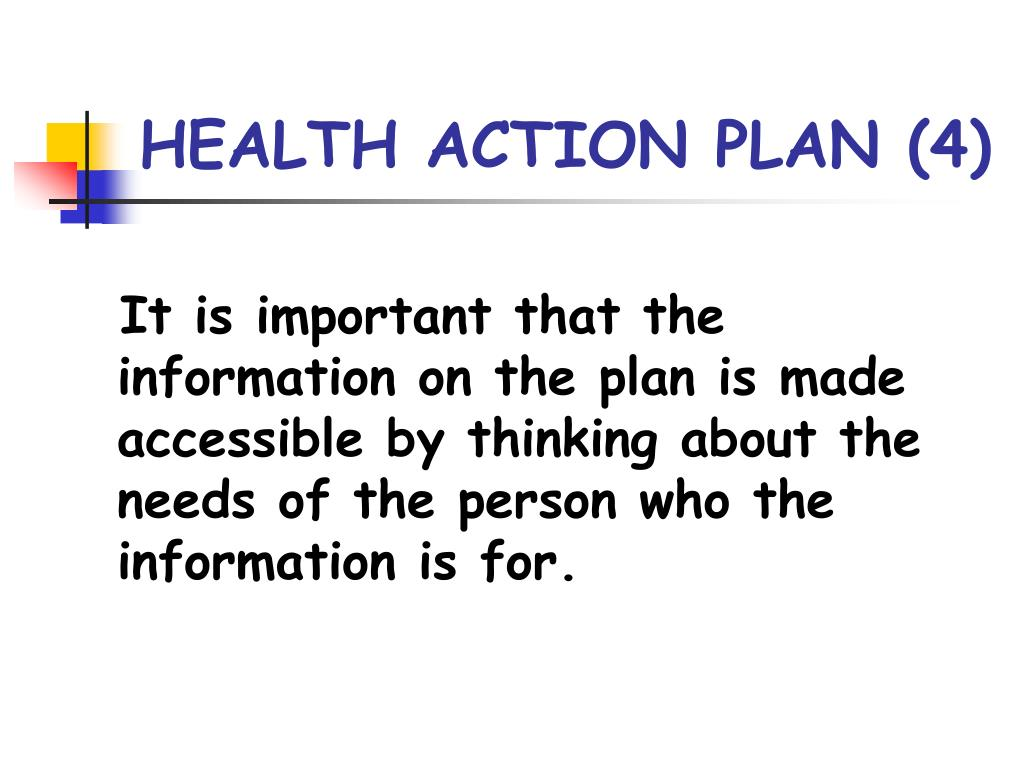 HEALTH ACTION PLAN (4)